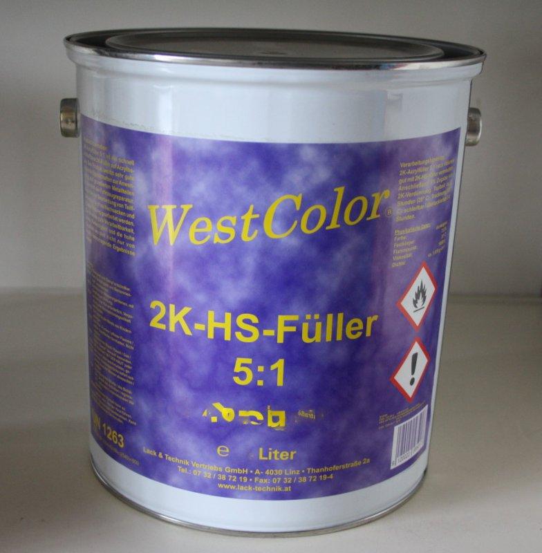 Füller hellgrau 3 Liter