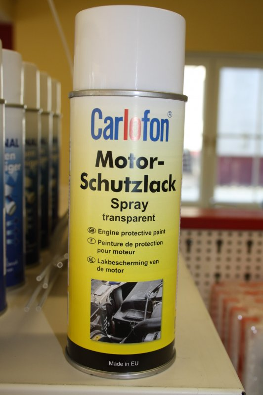 Motorschutzlack