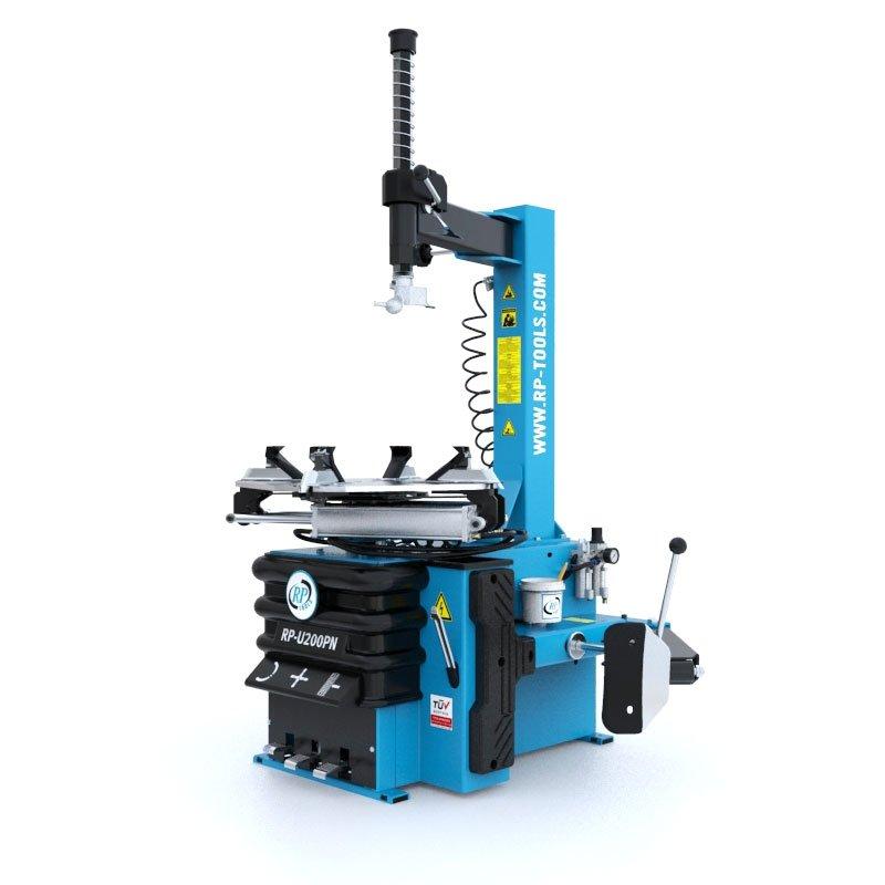 Halbautomatische Reifenmontiermaschine