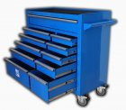 XXL Werkstattwagen mit 11 Schubladen