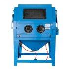 Sandstrahlkabine Sandstrahlgerät Sandstrahler Typ 990L mit Absaugung