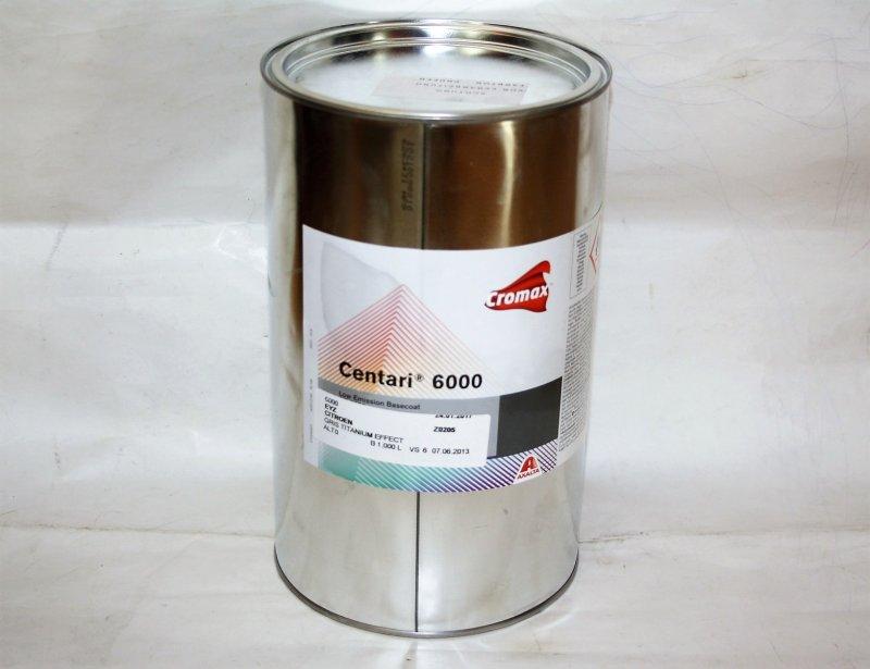 Basislack Lösungsmittellack Cromax C6000 Fertiglack 1 Liter