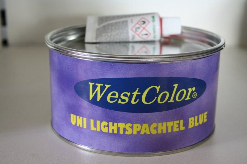Kitt uni Lightspachtel blau 1kg (2L)