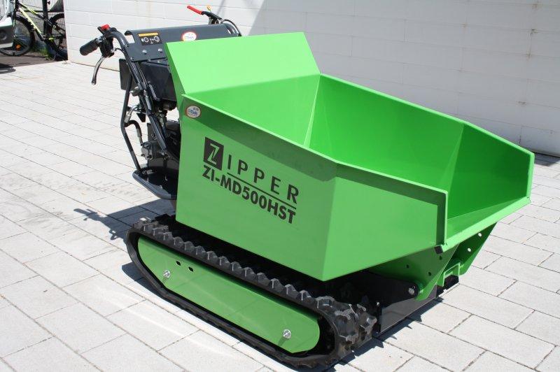 Zipper Kettendumper Raupendumper Nutzlast 500kg Motor 302ccm!